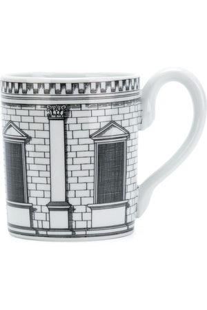 FORNASETTI House print mug