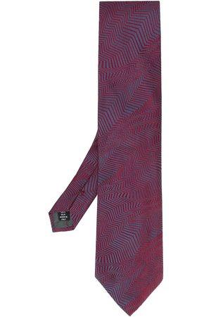 Gianfranco Ferré Men Neckties - 1990 abstract print tie