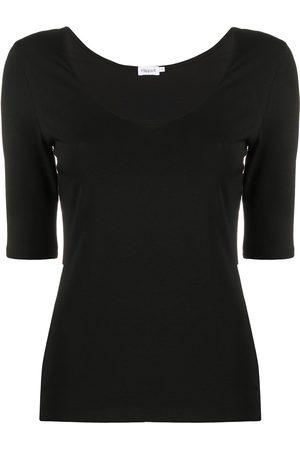 Filippa K Short-sleeve fitted T-shirt