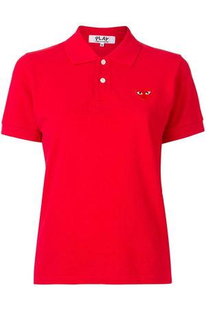 Comme des Garçons Women Polo Shirts - Signature piqué polo shirt