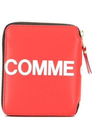 Comme des Garçons Wallets - Logo zipped wallet