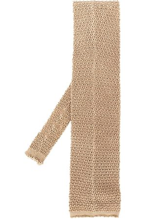 Gianfranco Ferré 1990s knitted square tie