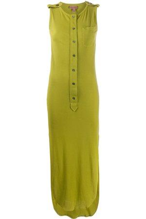 ROMEO GIGLI 1990s buttoned midi dress