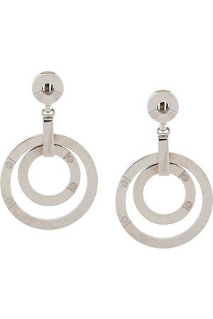 Gianfranco Ferré 2000s double-hoop earrings