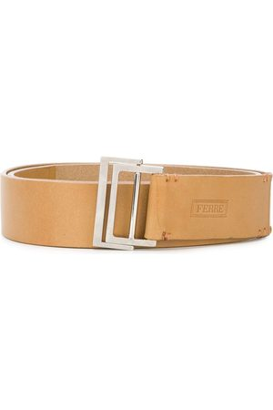 Gianfranco Ferré 2000s double-ring buckle belt