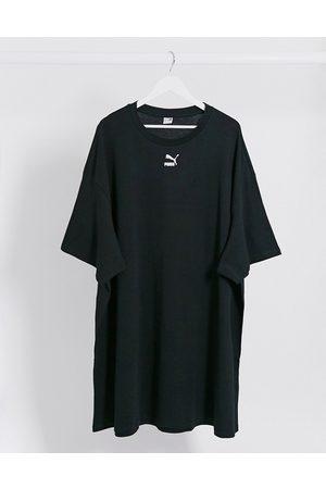 Puma Small logo t-shirt dress in