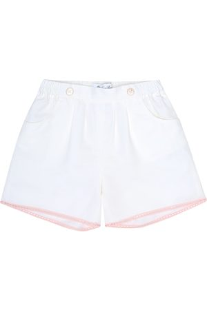 Loro Piana Girls Shorts - Kelsie embellished cotton-blend shorts