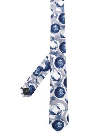 Gianfranco Ferré Men Neckties - 1990s round print neck tie