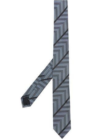 Gianfranco Ferré Men Neckties - 1990s geometric print neck tie