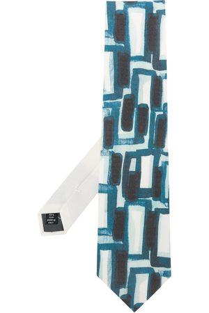 Gianfranco Ferré Men Neckties - 1990s abstract print neck tie