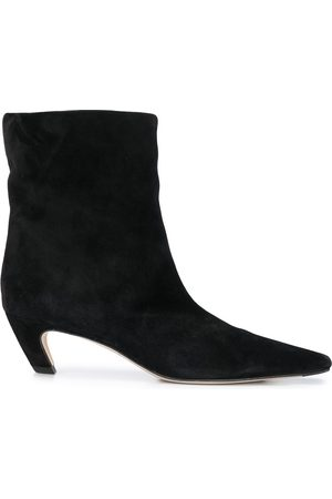 Khaite Pointed toe ankle boots