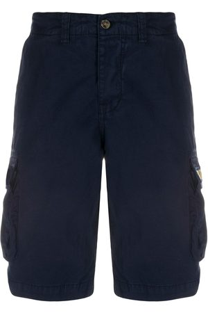 MC2 SAINT BARTH Men Shorts - Freeport embroidered cargo shorts