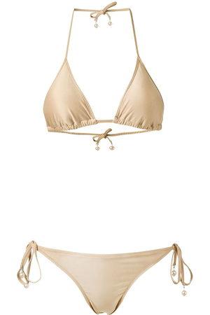 AMIR SLAMA Triangle bikini set