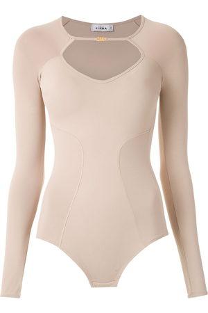 AMIR SLAMA Women Long Sleeve - Long sleeved bodysuit