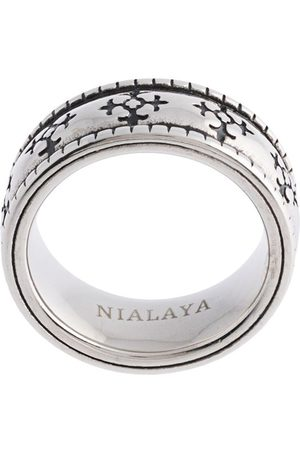 Nialaya Enameled ring