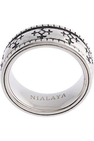 Nialaya Men Rings - Enameled ring