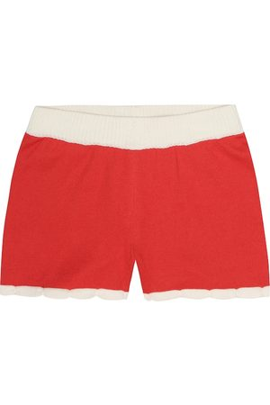 Mini Rodini Scallop cotton shorts