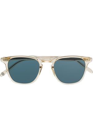 GARRETT LEIGHT Aviator Sunglasses - Square aviator sunglasses