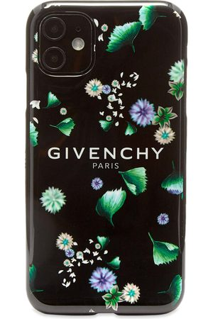 Givenchy Men Phone Cases - Floral Logo iPhone XI Case
