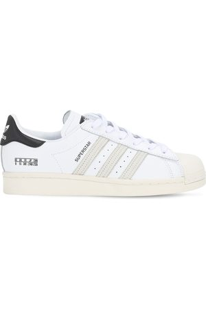 adidas Superstar Leather Snakers