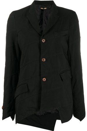 Comme des Garçons Women Blazers - Asymmetric paneled blazer