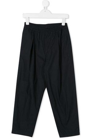 Emporio Armani Straight leg pleated trousers