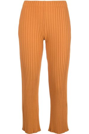 SIMON MILLER Cropped high-rise trousers