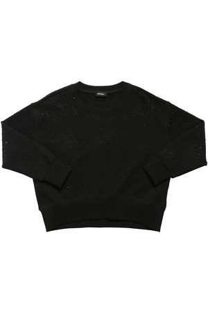 Diesel Embellished Cotton Sweatshirt