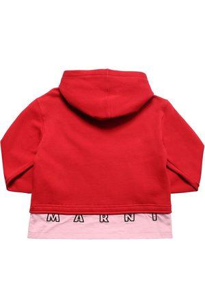 Marni Cotton Zip-up Sweatshirt Hoodie
