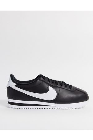 Nike Cortez leather trainers in