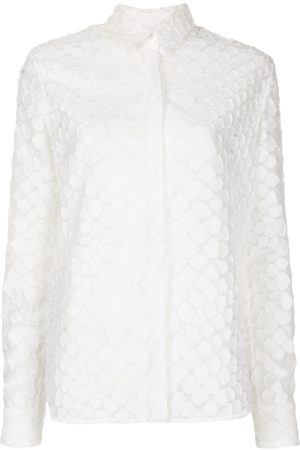 ALEX PERRY Women Long Sleeve - Ashton textured long sleeve shirt