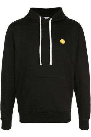 WoodWood Embroidered logo hoodie