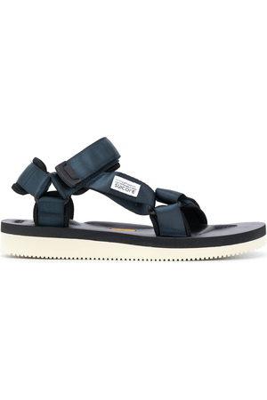 SUICOKE Contrast-sole strappy sandals