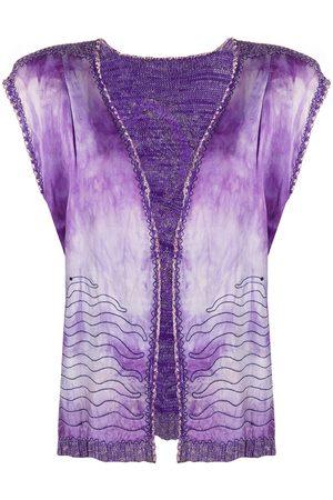A.N.G.E.L.O. Vintage Cult Women Vests - 1970s embroidered open vest