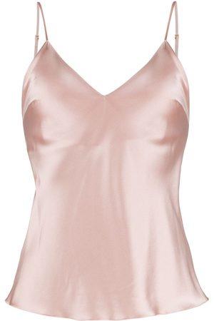Gilda & Pearl Women Vests - Sophia satin camisole top