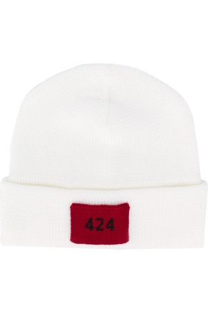 424 FAIRFAX Logo patch beanie hat