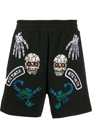 KTZ Monster embroidered shorts