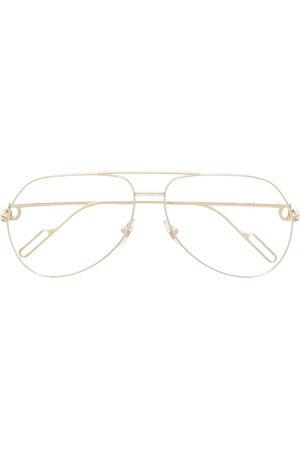 CARTIER EYEWEAR Aviator glasses