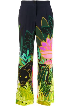 VALENTINO Panther in the Jungle pajama trousers