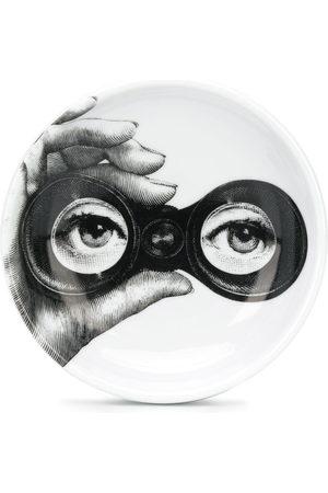 FORNASETTI Binoculars-print ashtray (12cm)