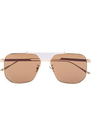 Bottega Veneta Women Aviator Sunglasses - Geometric aviator-frame sunglasses