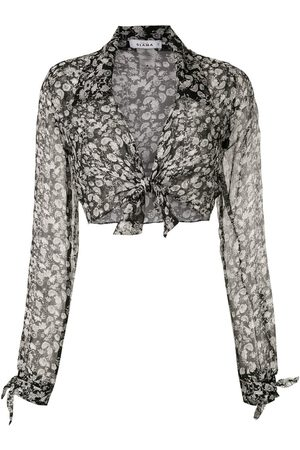 AMIR SLAMA Silk Margarida shirt