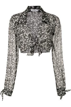 AMIR SLAMA Women Long Sleeve - Silk Margarida shirt
