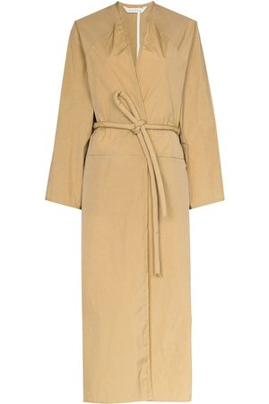 Kassl Editions Women Trench Coats - Wrap front trench coat