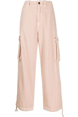 Semicouture Women Cargo Trousers - Cropped cargo trousers