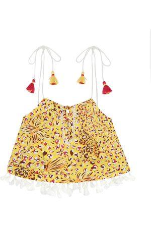POUPETTE ST BARTH Girls Tops - Mara printed georgette top