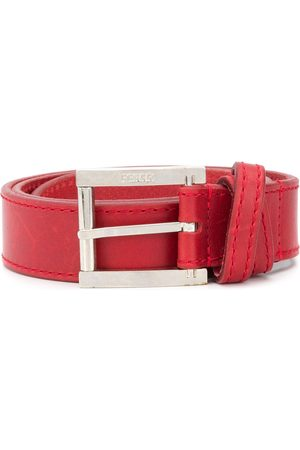 Gianfranco Ferré 2000s debossed logo belt