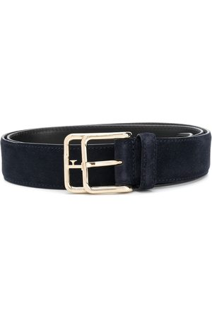 Gianfranco Ferré 1990s logo buckle belt