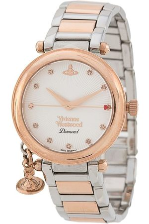 Vivienne Westwood Orb Diamond two-tone watch