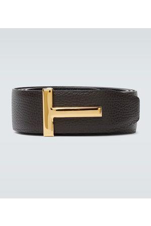 Tom Ford Reversible T leather belt